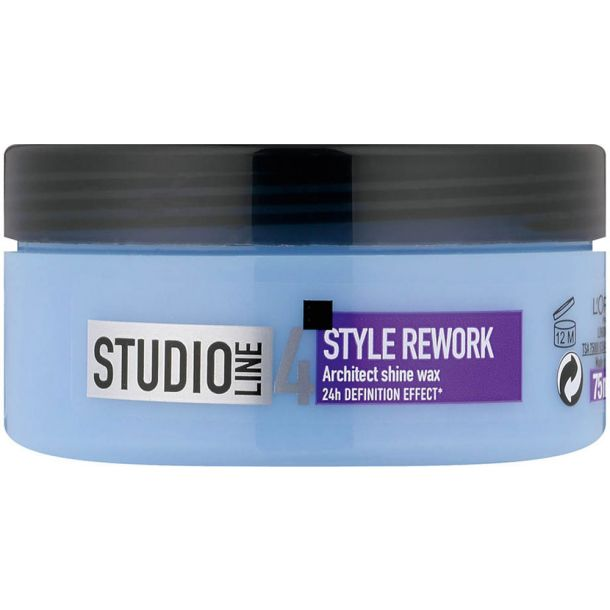 L´oréal Paris Studio Line Style Rework Architect 24H Hair Wax 75ml