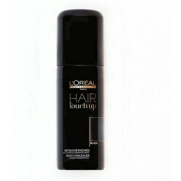 L´oréal Professionnel Hair Touch Up Hair Color Black 75ml (All Hair Types)