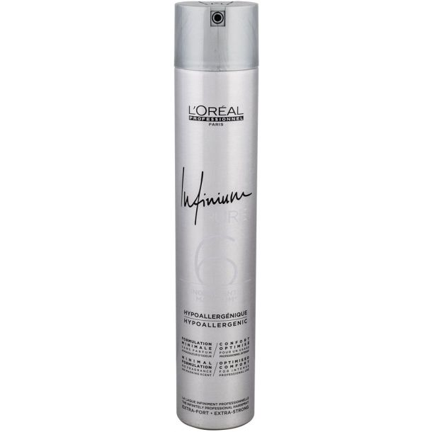 L´oréal Professionnel Infinium Pure Extra Strong Hair Spray 500ml (Extra Strong Fixation)