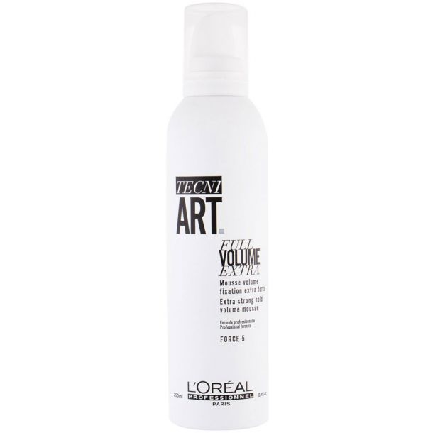 L´oréal Professionnel Tecni.Art Full Volume Extra Hair Mousse 250ml (Extra Strong Fixation)