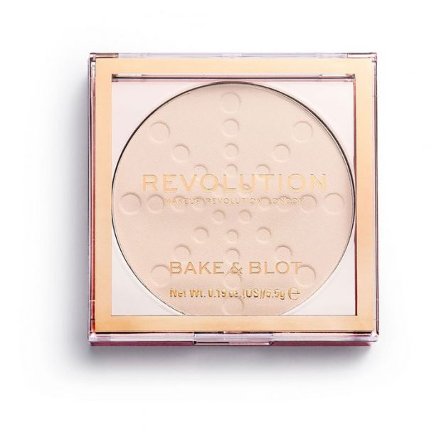 Makeup Revolution London Bake & Blot Powder Translucent 5,5gr