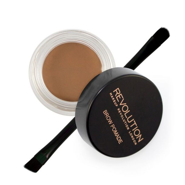Makeup Revolution London Brow Pomade Eyebrow Gel and Eyebrow Pomade Soft Brown 2,5gr