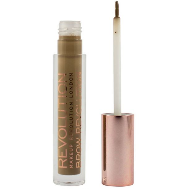 Makeup Revolution London Brow Revolution Eyebrow Gel and Eyebrow Pomade Blonde 3,8gr