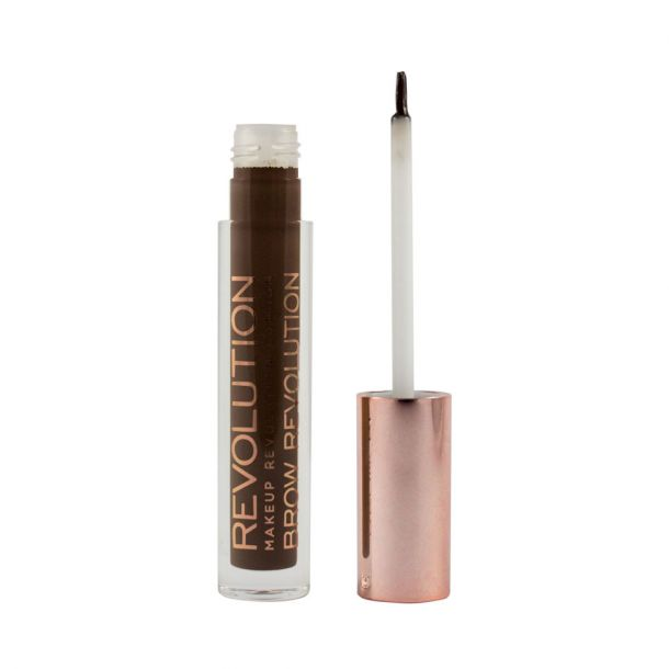 Makeup Revolution London Brow Revolution Eyebrow Gel and Eyebrow Pomade Dark Brunette 3,8gr