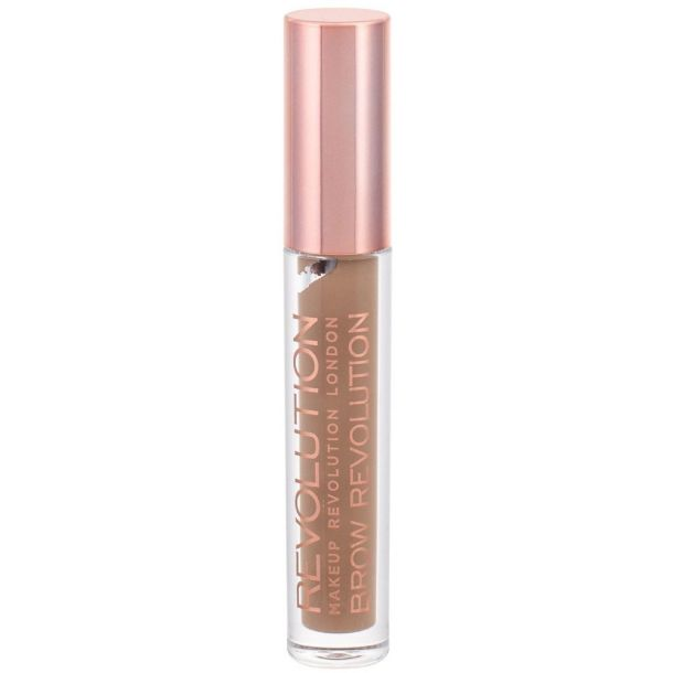 Makeup Revolution London Brow Revolution Eyebrow Gel and Eyebrow Pomade Soft Brown 3,8gr