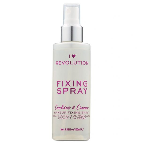 Makeup Revolution London I Heart Revolution Fixing Spray Cookies & Cream Make - Up Fixator 100ml