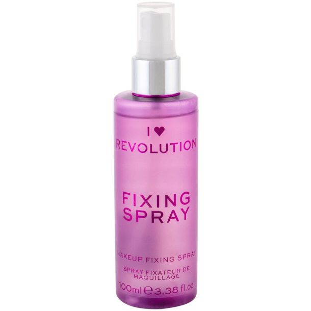 Makeup Revolution London I Heart Revolution Fixing Spray Make - Up Fixator 100ml