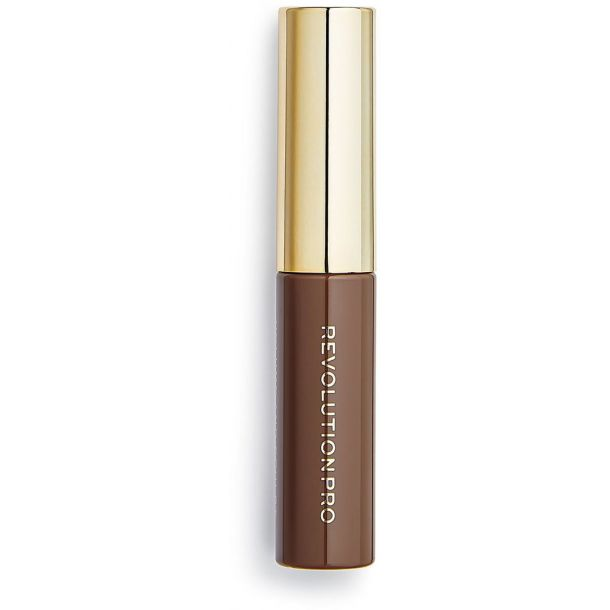 Makeup Revolution London Revolution PRO Brow Volume And Sculpt Gel Eyebrow Gel and Eyebrow Pomade Warm Brown 6ml