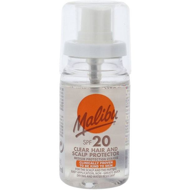 Malibu Clear Hair And Scalp Protector SPF20 50ml (Sun Damaged Hair)