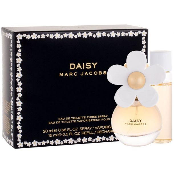 Marc Jacobs Daisy Eau de Toilette 20ml Combo: Edt 20 Ml + Edt 15 Ml Filling Damaged Box
