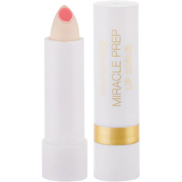 Max Factor Miracle Prep Lip Scrub Lip Balm 4gr (For All Ages)