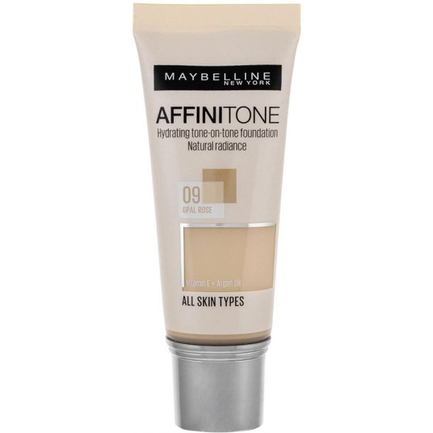 Maybelline Affinitone Makeup 09 Opal Rose 30ml
