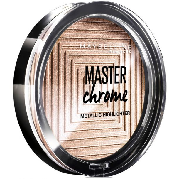 Maybelline Master Chrome Brightener 100 Molten Gold 9gr