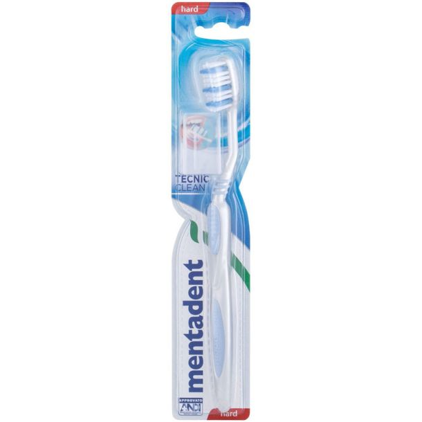 Mentadent Tecnic Clean Hard Toothbrush 1pc