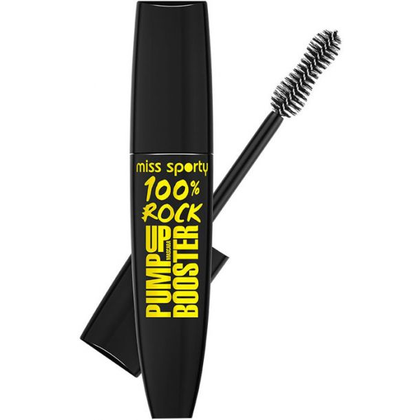 Miss Sporty Pump Up Booster 100% Rock Mascara 001 100% Black 12ml
