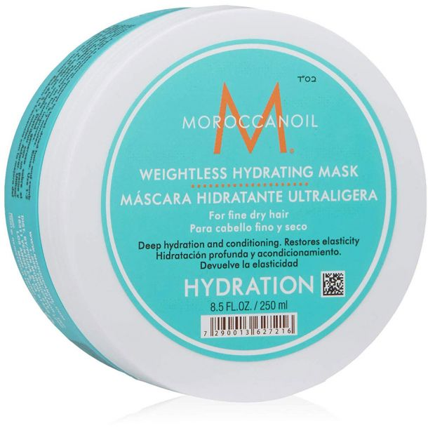 Moroccanoil Hydration Weightless Hair Mask 250ml (Fine Hair - Dry Hair)