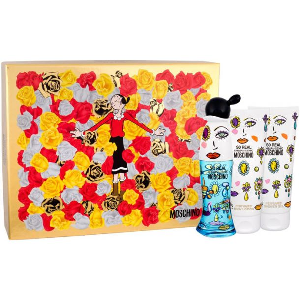 Moschino So Real Cheap and Chic Eau de Toilette 50ml + Body Lotion 100ml + Shower Gel 100ml