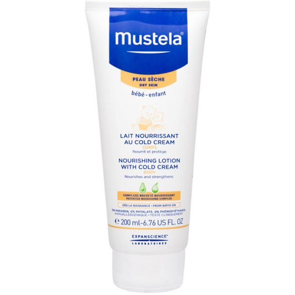 Mustela Bébé Nourishing Lotion With Cold Cream Body Lotion 200ml