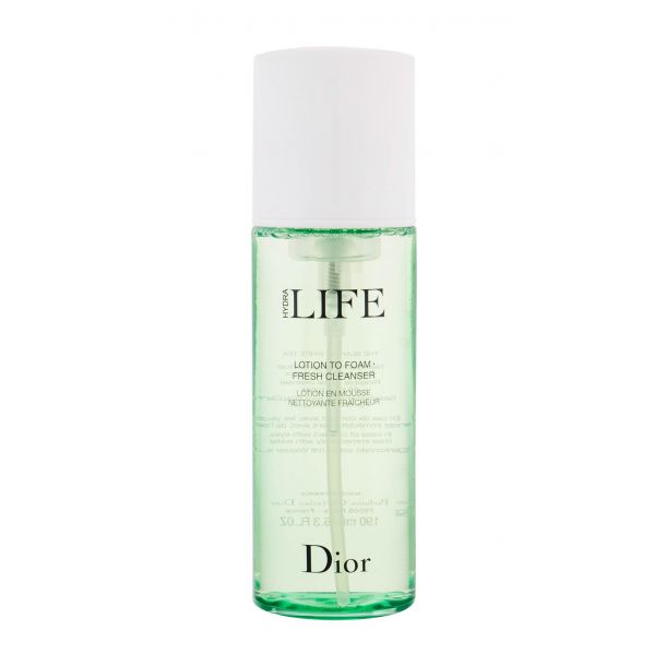 Christian Dior Hydra Life Lotion to Foam Fresh Cleanser Cleansing Mousse 190ml Damaged Box