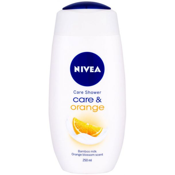 Nivea Care & Orange Shower Gel 250ml