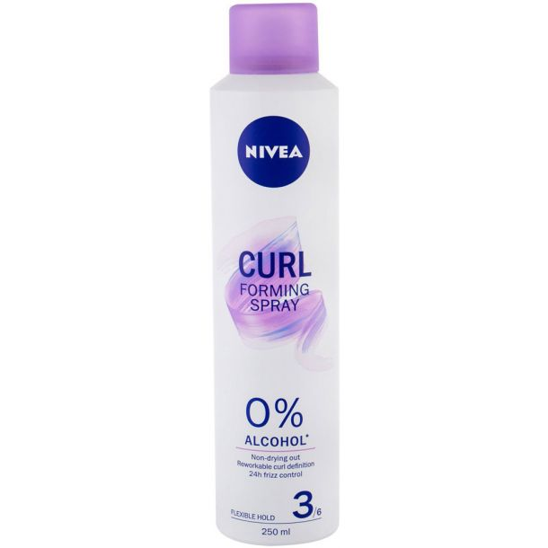 Nivea Forming Spray Curl For Definition and Hair Styling 250ml (Medium Fixation)