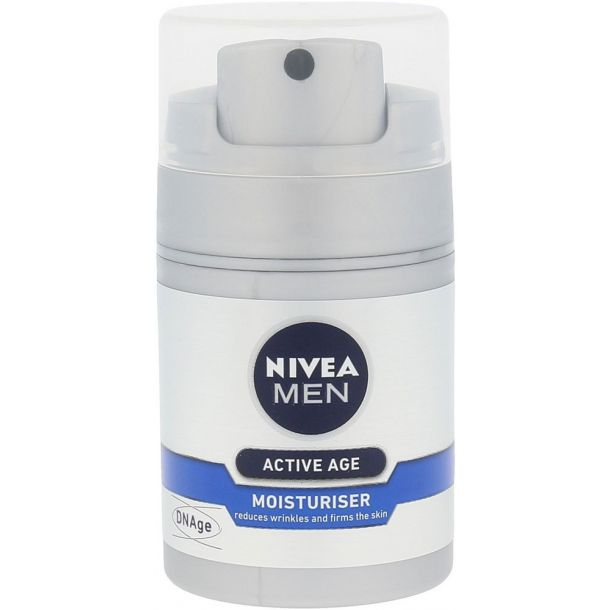 Nivea Men Active Age Moisturiser Day Cream 50ml (Wrinkles)