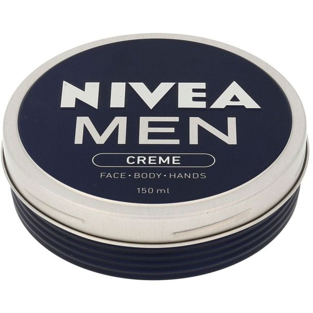 Nivea Men Creme Face Body Hands Day Cream 150ml (For All Ages)
