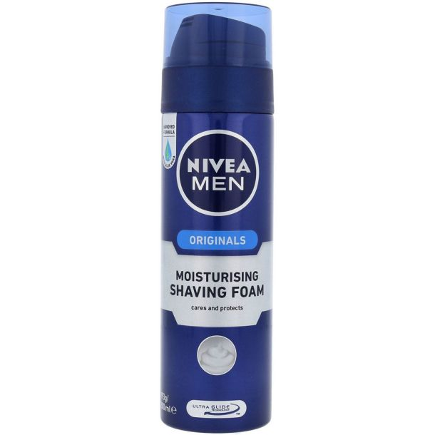 Nivea Men Original Moisturising Shaving Foam 200ml