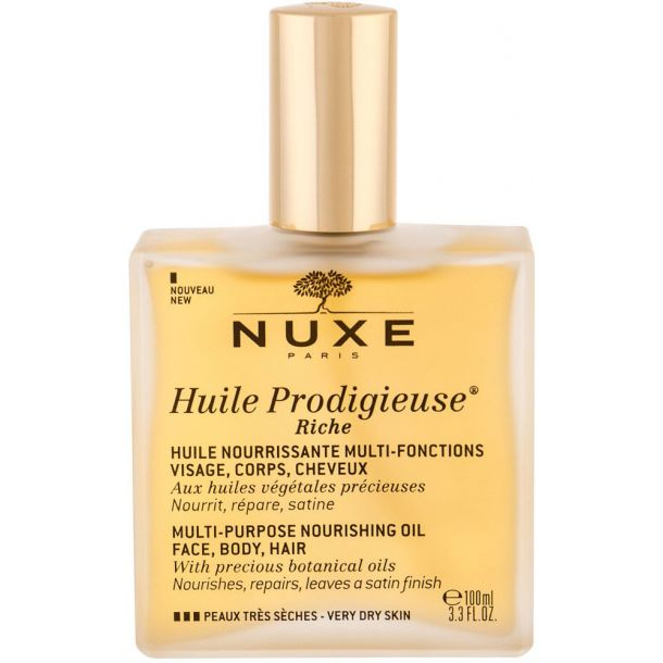 Nuxe Huile Prodigieuse Riche Multi-Purpose Oil Body Oil 100ml