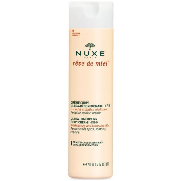 Nuxe Reve de Miel Ultra Comforting Body Cream 48HR Body Cream 200ml