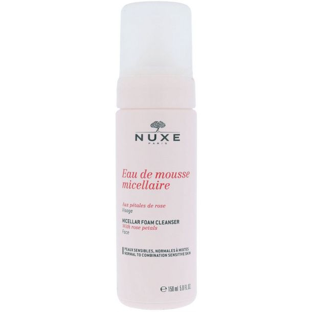 Nuxe Rose Petals Cleanser Micellar Cleansing Mousse 150ml