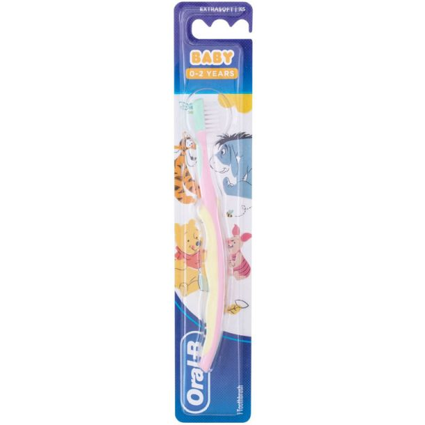 Oral-b Baby Pooh Extra Soft Toothbrush 1pc