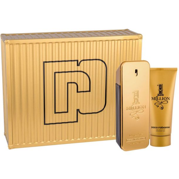 Paco Rabanne 1 Million Eau de Toilette 100ml Combo: Edt 100ml + 100ml Shower Gel