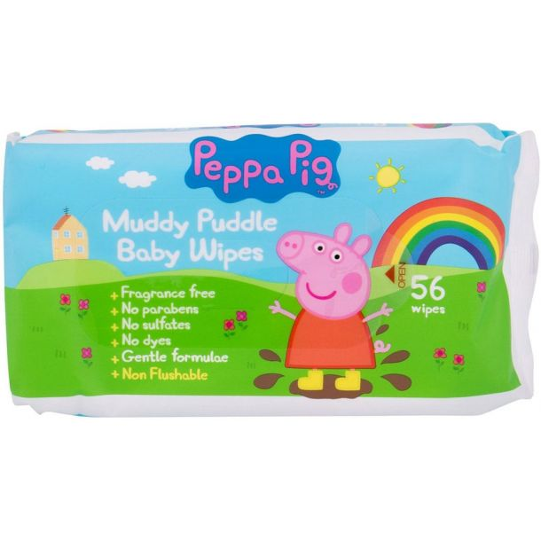 Peppa Pig Peppa Baby Wipes Cleansing Wipes 56pc