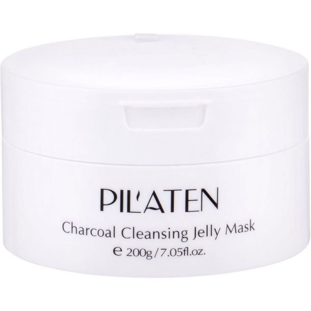Pilaten Charcoal Cleansing Jelly Mask Face Mask 200gr (For All Ages)