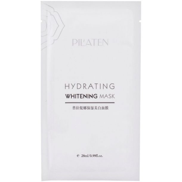 Pilaten Hydrating Whitening Mask Face Mask 28ml (For All Ages)