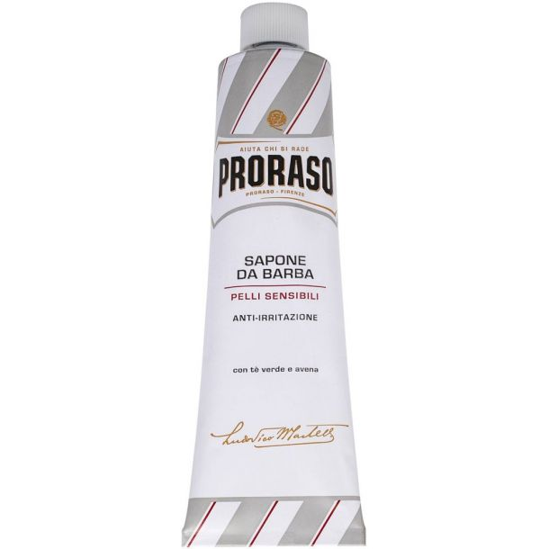 Proraso White Shaving Cream In A Tube 150ml