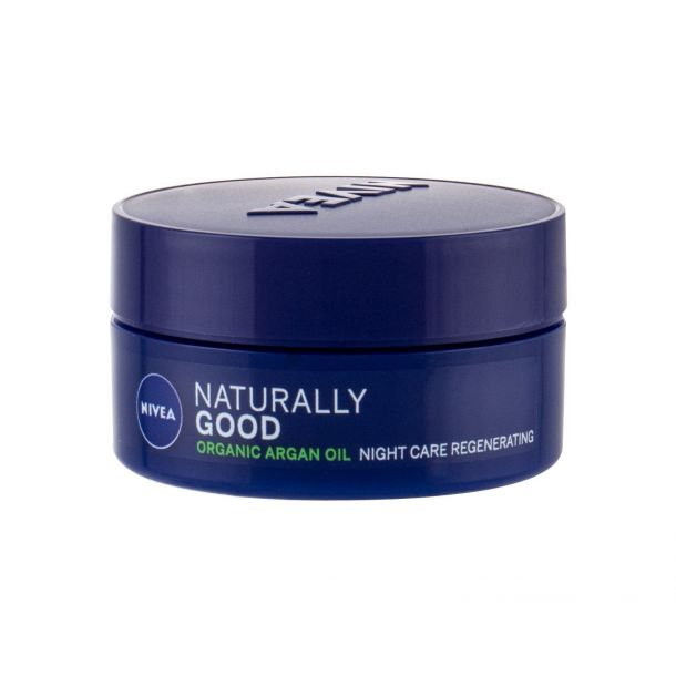 Nivea Naturally Good Argan Oil Night Skin Cream 50ml (For All Ages)