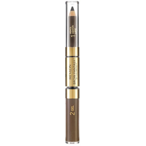 Revlon Brow Fantasy Pencil & Gel Set and Pallette For Eyebrows Brunette 1,49gr