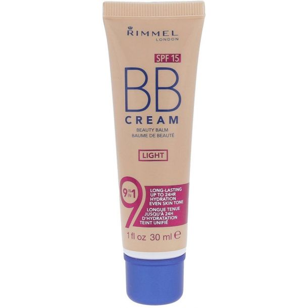Rimmel London BB Cream 9in1 SPF15 BB Cream Light 30ml