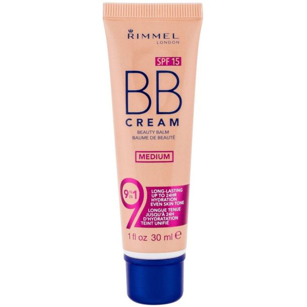 Rimmel London BB Cream 9in1 SPF15 BB Cream Medium 30ml