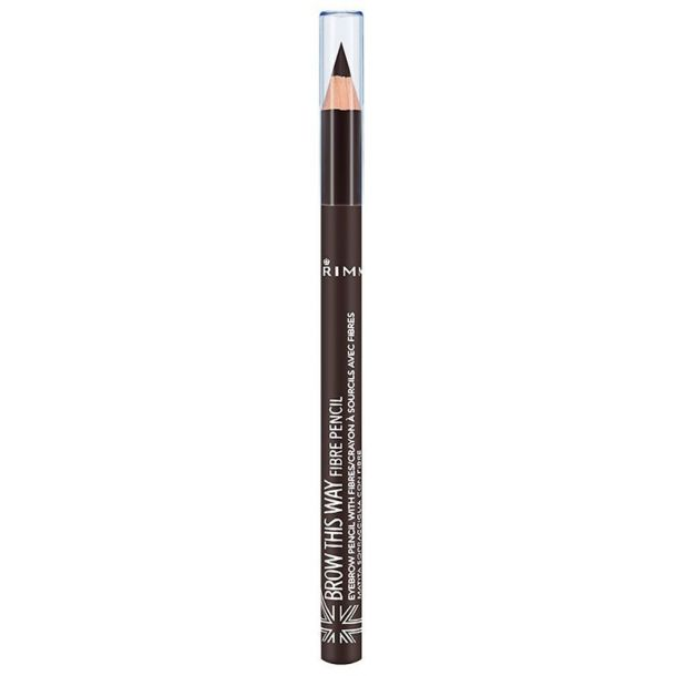 Rimmel London Brow This Way Fibre Pencil Eyebrow Pencil 003 Dark 1,08gr