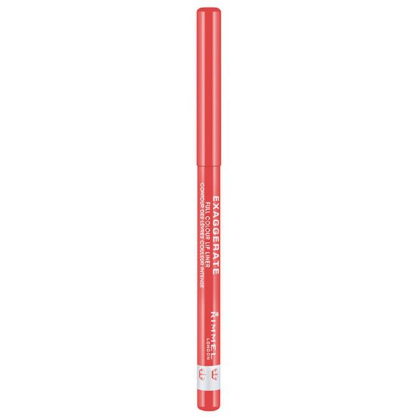 Rimmel London Exaggerate Lip Pencil 102 Peachy Beachy 0,25gr