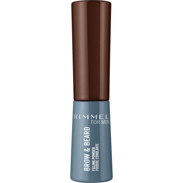 Rimmel London For Men Brow & Beard Eyebrow Powder 003 Dark Brown 0,7gr
