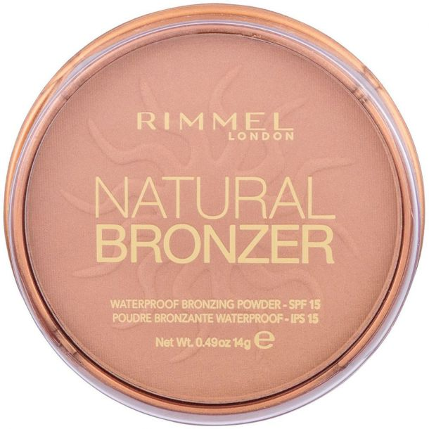 Rimmel London Natural Bronzer SPF15 Bronzer 022 Sun Bronze 14gr