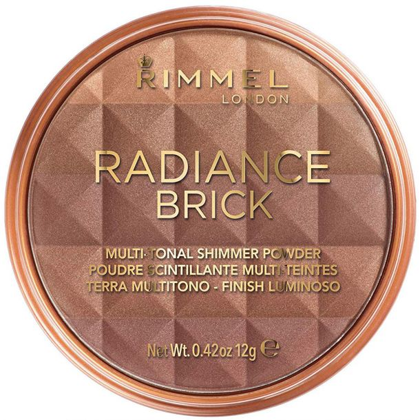 Rimmel London Radiance Brick Bronzer 001 Light 12gr