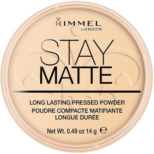 Rimmel London Stay Matte Powder 001 Transparent 14gr