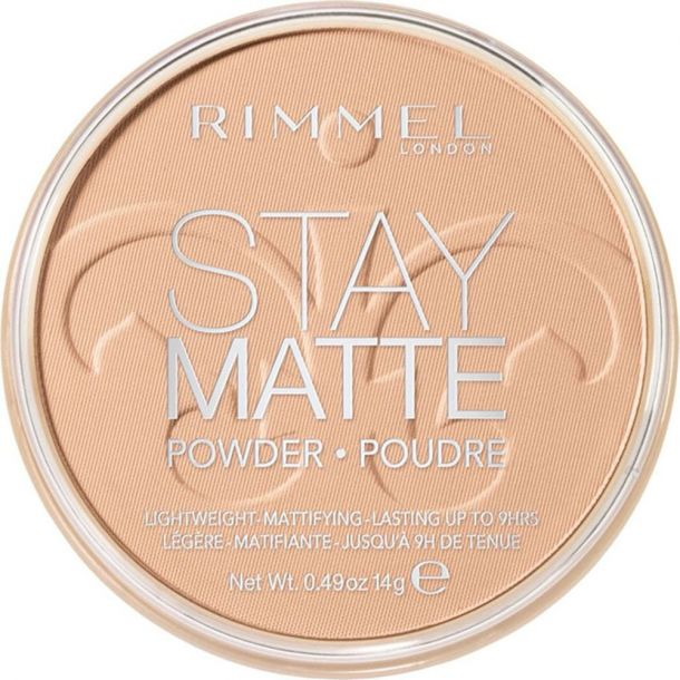 Rimmel London Stay Matte Powder 003 Peach Glow 14gr