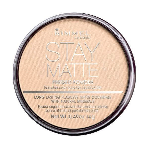Rimmel London Stay Matte Powder 005 Silky Beige 14gr