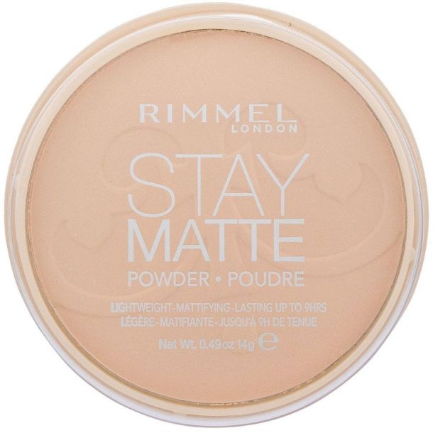 Rimmel London Stay Matte Powder 006 Warm Beige 14gr